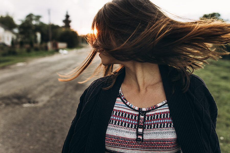 L'effetto dei raggi ultravioletti sui capelli